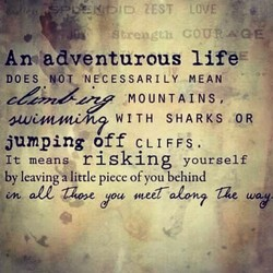 Arwadventurous lifeE 
