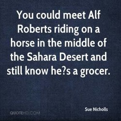 You could meet Alf 