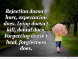 Rejection doesn 't 