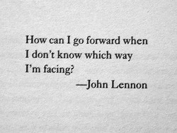 How can I go forward when 