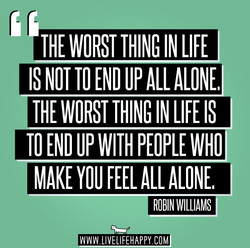 THE WORST THING IN LIFE 