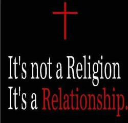 It's not a Religion 