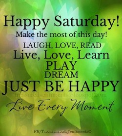 Happy Saturday! 
