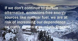 If we don't continue to pu ue 