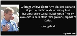 Although we have do not have adequate access to 