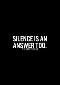 SILENCE AN 