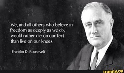 We, and all others who believe in 