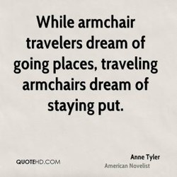 While armchair 