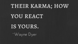 THEIR KARMA; HOW 