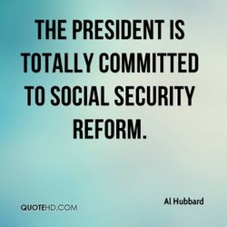 THE PRESIDENT IS 