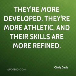 THEY'RE MORE 