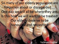So many of pur elderlypépuletion are 
