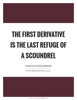 THE FIRST DERIVATIVE 