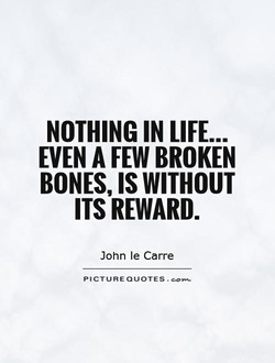 NOTHING IN LIFE... 