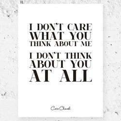 1 DON'T CARE 