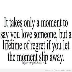 It takes only a moment to 