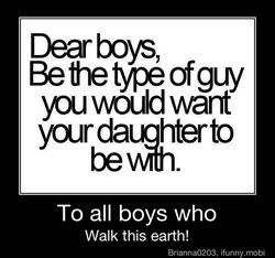 Dear boys, 