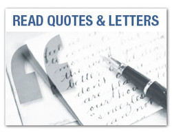 READ QUOTES & LETTERS