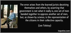 The error arises from the learned jurists deceiving 