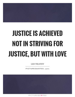 JUSTICE IS ACHIEVED 