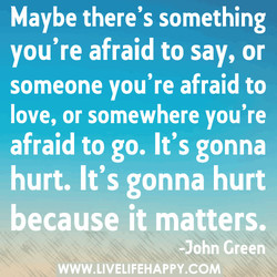 Maybe there's something 