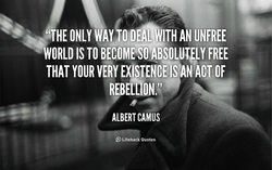 O DEAL WITH AN UNFREE 
