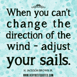 When you can't 