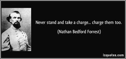 Never stand and take a charge... charge them too. 