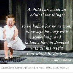 A child an teach an'i 