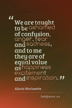 We are taught 