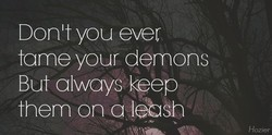 Donltyou ever 