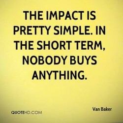 THE IMPACT IS