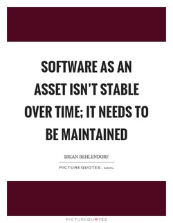 SOFTWARE AS AN 