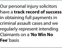 Our personal injury solicitors 