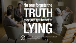 No one forgets the 