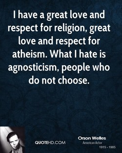 I have a great love and 