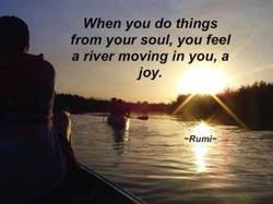 When you do things 