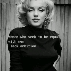 omen who seek to be equa 