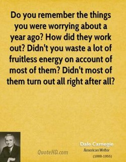 Do you remember the things 