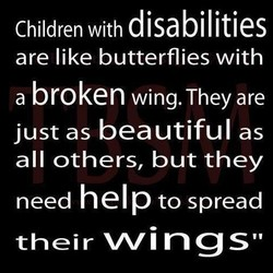 Children with disa 