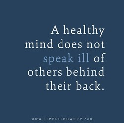 A healthy 