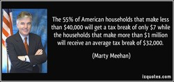 The 55% of American households that make less 