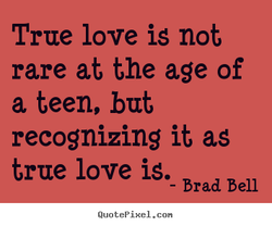 True love is not 