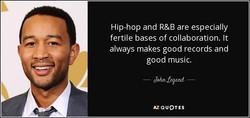 Hip-hop and R&B are especially 