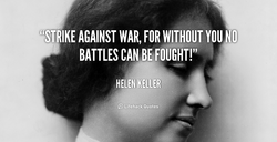 AGAINST WAR, FOR WITHOUT YOU NO 