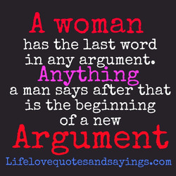 A woman 