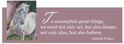 o accomplish great things, 
