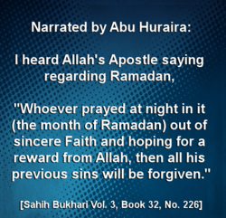 Narrated by Abu Huraira: 