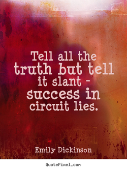 Tell all the, 