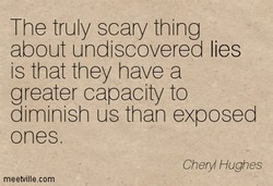 The truly scary thing 